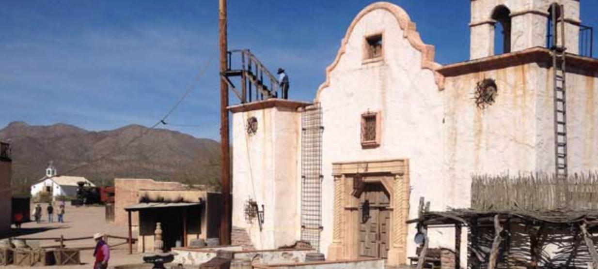 Old Tucson Set